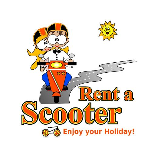 logo amalfi rent a scooter