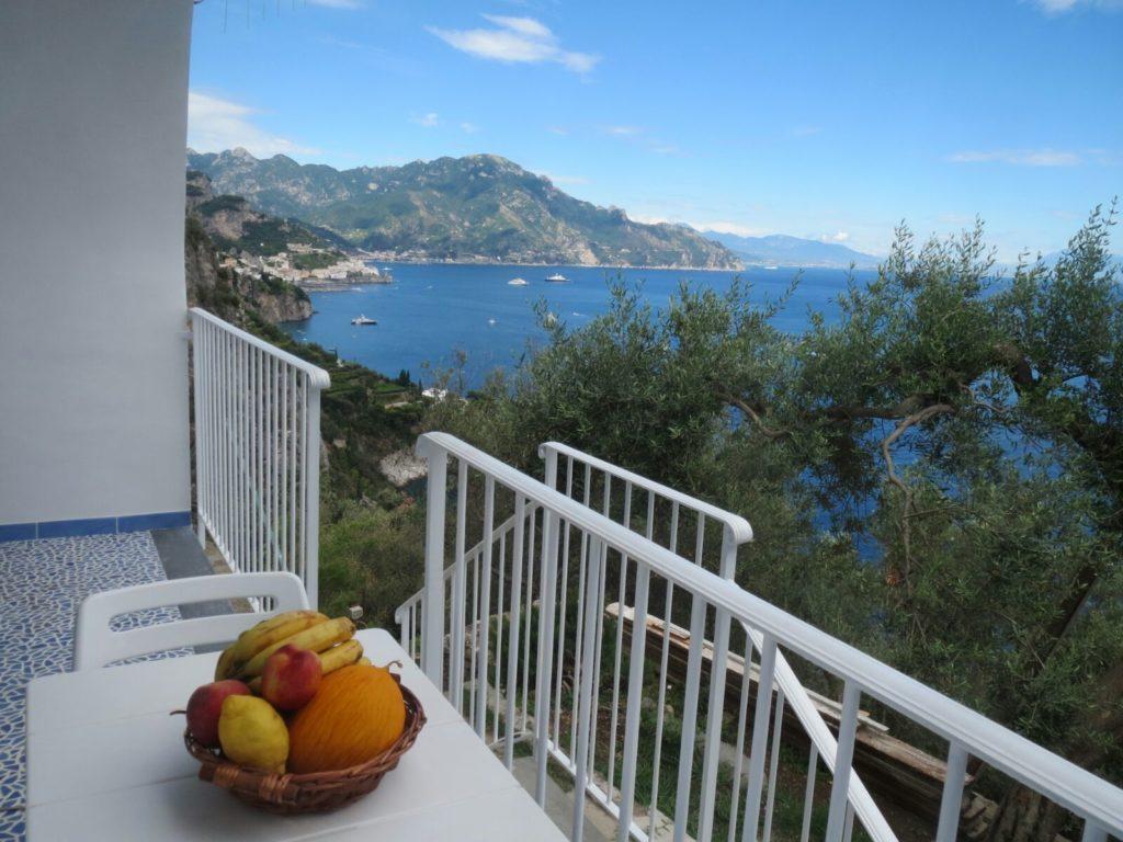magic sea view terrazza con ingresso